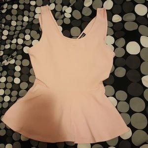 Express pink shirt